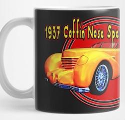 Cord Coffin Nose Mug from VivaChas! - Click Pix to Get a Mug!