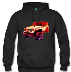 2017 Jeep Unlimited Premium Hoodie Heavy Duty for Cold Weather Riding! Click Pix to Get It Now!