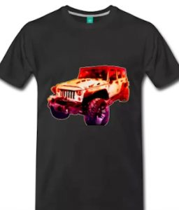 2017 Jeep Unlimited T-shirt - click pix to get a Tee