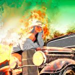 Hot Rod Pinup Happiness is a Warm Sun - Click the image to shop for yours