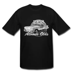 58 Oldsmobile Tall and Big Sized T-Shirts - click the Tee Pix to Shop your Tall Size!