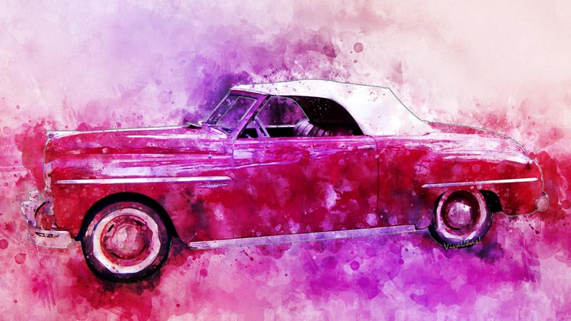 2017 Watercolour Collection has a fave of mine! The 49 Dodge Wayfarer Roadster - real bewdy! ~;0)