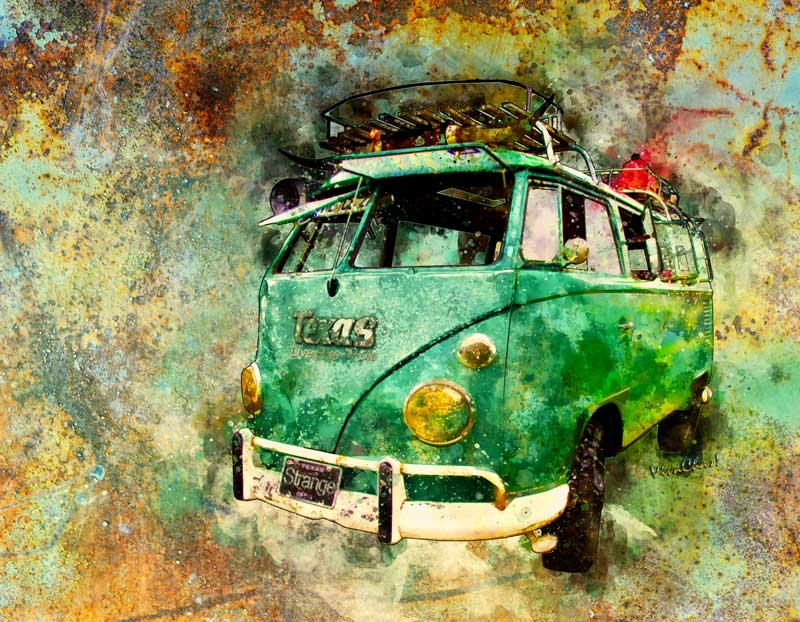 Get your Beachy Surf Bus Watercolour right here! Click the image to shop for stuff!